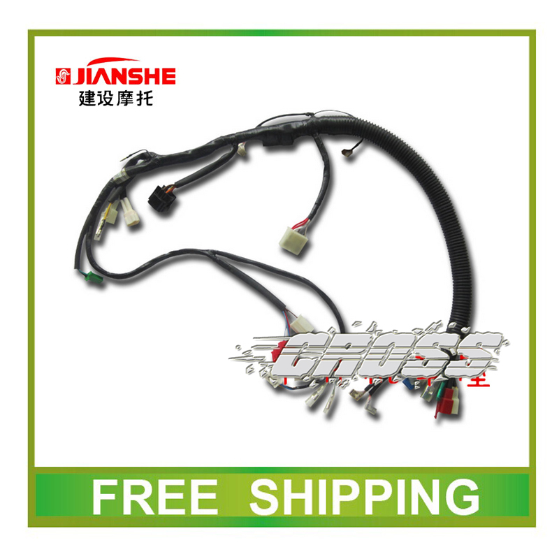 jianshe 150cc JS150 JS150-A JS150-A/F2  JS150-A/F3 electric wire cable cdi ignition coil relay rectifier motorcycle accessories<br><br>Aliexpress