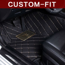 Custom fit car floor mats for Infiniti Z62 QX56 QX80 3D car-styling accessories all weather rugs liners carpet (2010-present)(China (Mainland))