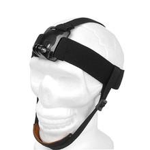 Buy Go pro Elastic Adjustable Head Strap Mount Belt Headstrap Harness Band Gopro SJ4000 SJCAM XiaoYi Camera Accessories GP90 for $4.20 in AliExpress store