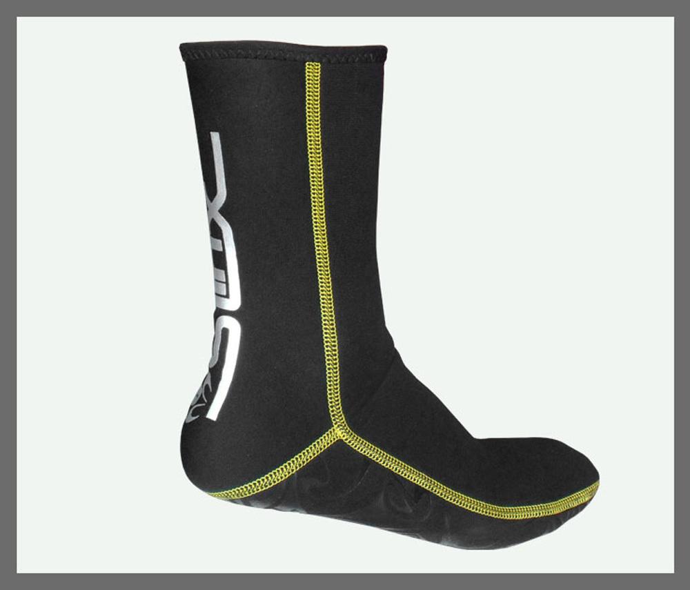 SLINX Slip-resistant 3mm Neoprene Scuba Diving Socks Snorkeling fins Swimming Socks Water Sports Snorkeling Boots(China (Mainland))