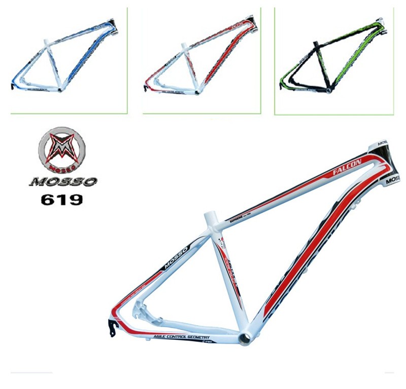 high quality bike frame MTB authentic mosso 619XC aluminium alloy mountain bike 26*16 17 18 inch frame Free shipping<br><br>Aliexpress