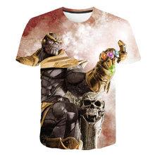 2019 г., новинка, Лидер продаж, футболка в индивидуальном стиле «Союз Мстителей 4» футболка с короткими рукавами Летние повседневные футболки ...(China)