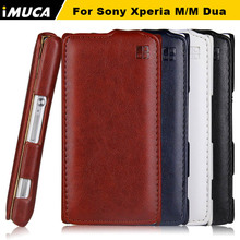 Buy IMUCA Leather Cover Case Sony Xperia M C1904 M Dual C1905 Flip Cover Pouch sony c2004 c2005 phone cases accessories for $5.67 in AliExpress store