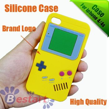 silicone case for Iphone 4G/4s, soft case for iphone 4/4s, hot sale item [100pcs], free shipping