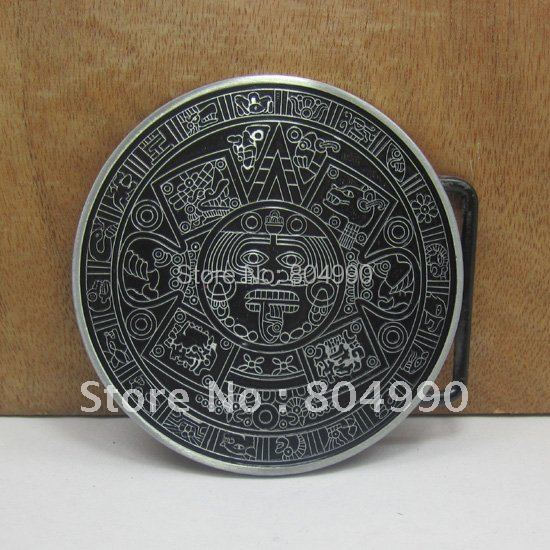 Metal religious belt buckle with pewter finish plating FP-02932 suitable for 4cm wideth belt with continous stock