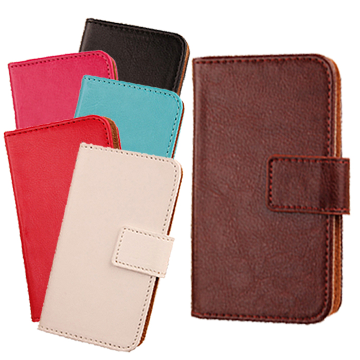 1pcs Flip shell Card holder Magnetic Flip skin protective smart phone bag PU Leather Case For BLU Life Play(China (Mainland))