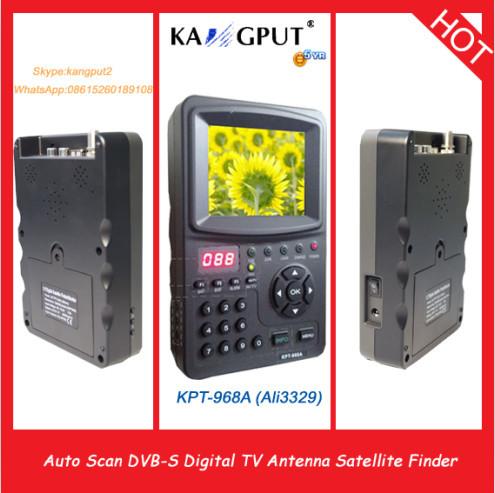 KPT-968A Top-Selling DVB-S Digital Satellite Finder Signal Meter,TV antenna sat finder(China (Mainland))