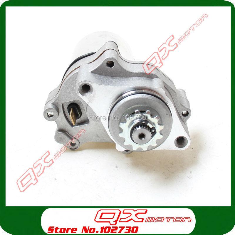 2 Bolt Lower Electric Starter Motor for 50cc 70cc 90cc 110cc 125cc Dirt Pit Bike Atv Quads Go Kart Buggy 4-Stroke Engine(China (Mainland))