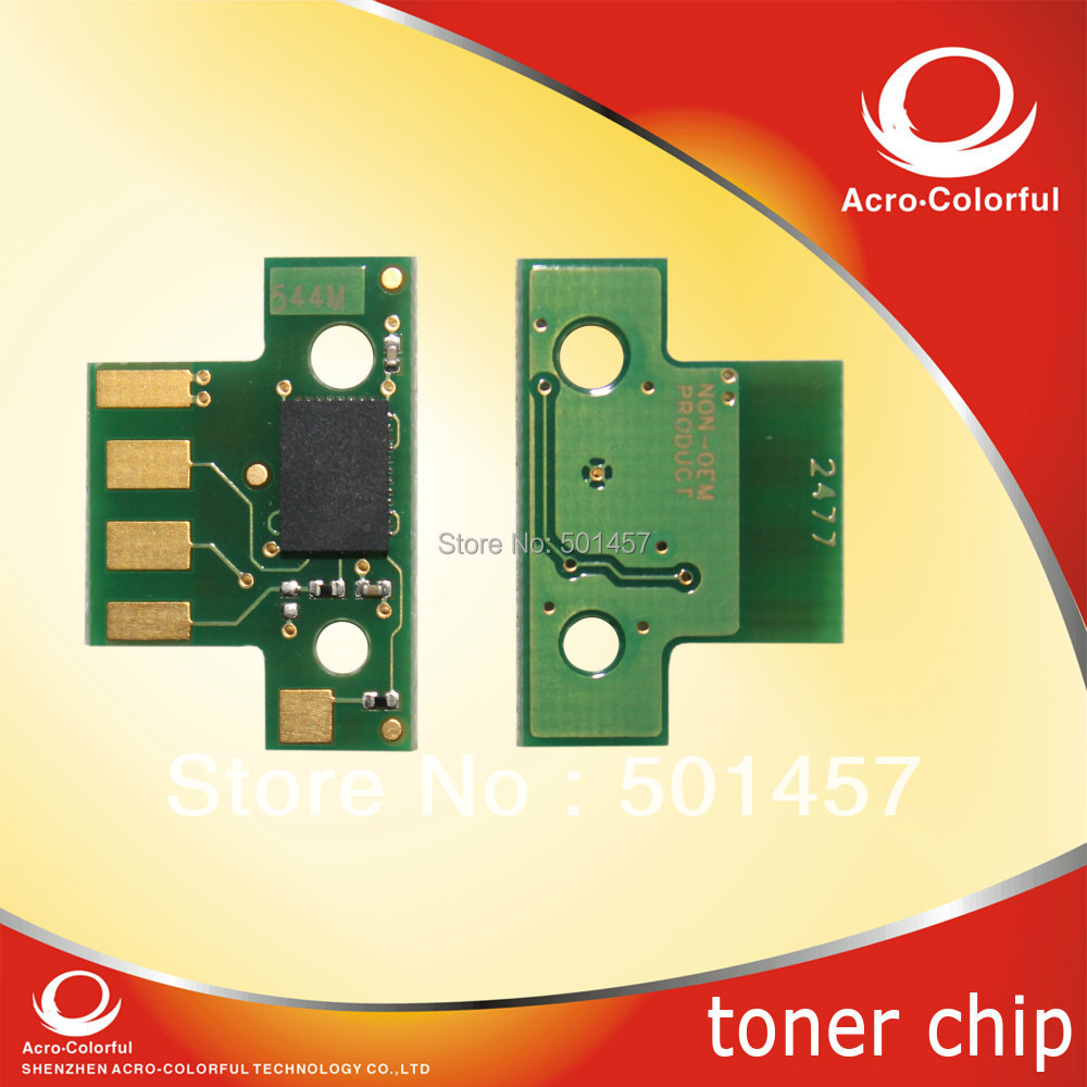 Color Toner Cartridge Chip for Lexmark c540 chip Resetter C543/C544/C546/X543/X544/X546/X548(China (Mainland))