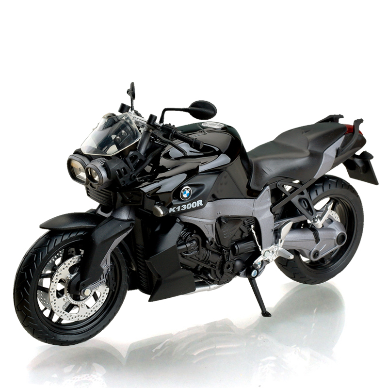 K1300R Black 1:12 motorcycle model alloy fuel tank simulation of car decoration Alloy motorcycle racing model Toys gift Kid toys<br><br>Aliexpress