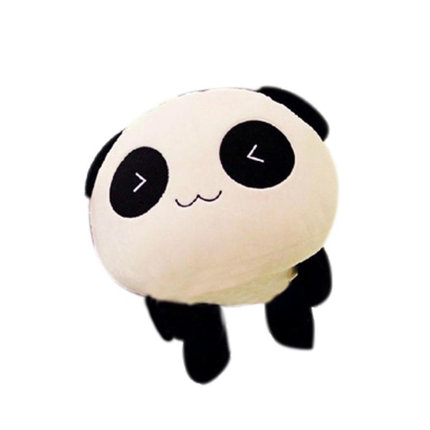 Modern Cute Plush Doll Toy Stuffed Animal Panda Pillow Quality Bolster Gift 25cm Birthday Gifts Feb25(China (Mainland))