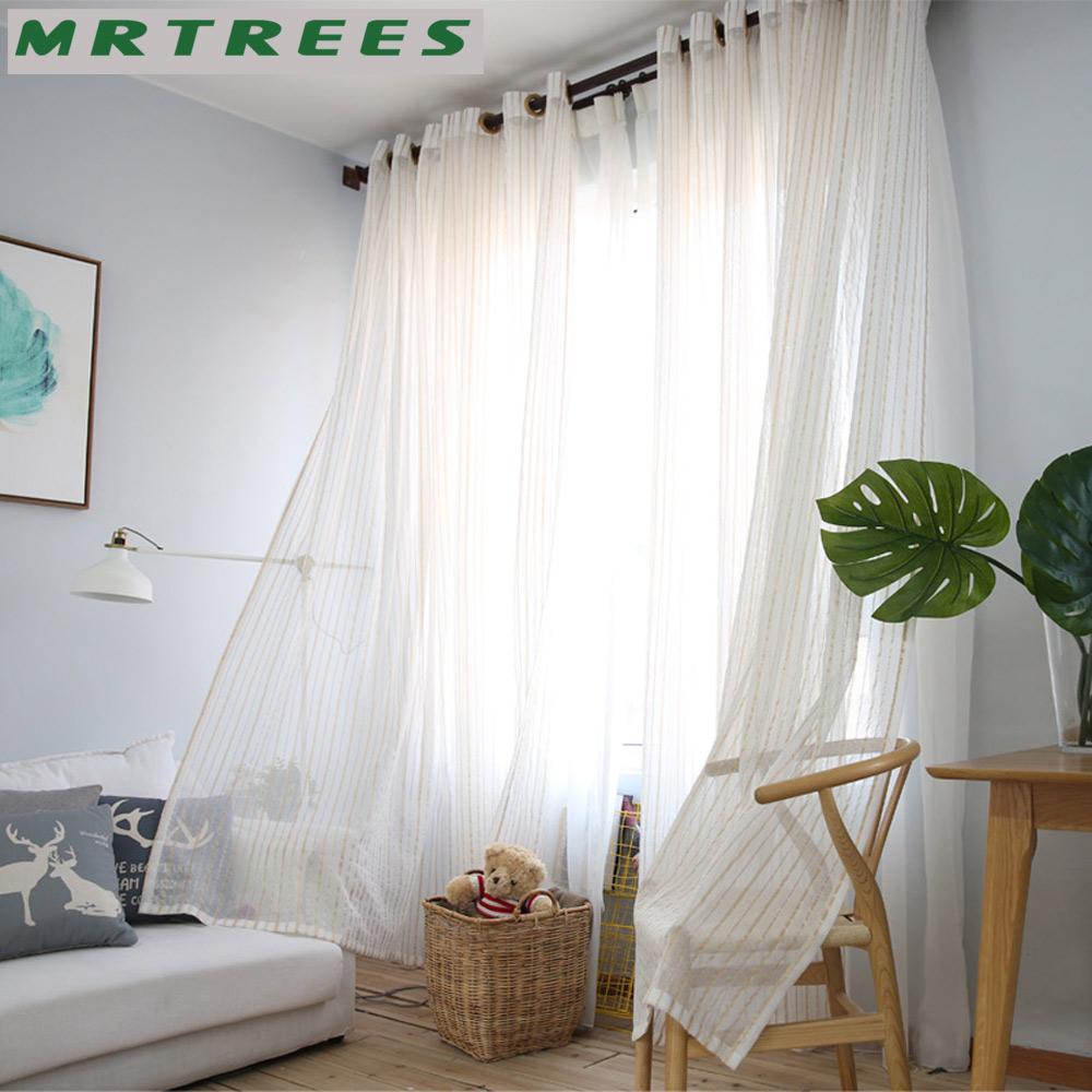 Sheer white bedroom curtains - Linen Sheer Curtains Window Curtains For Living Room Bedroom Curtains For The Kitchen Modern Tulle Curtains For Window Drapes