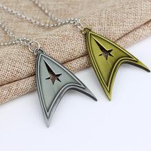 Buy Star Trek Logo Necklaces Marvel Comic Series Hot Movie Cosplay Metal Pendant Fashion Jewelry Women Men free for $1.68 in AliExpress store
