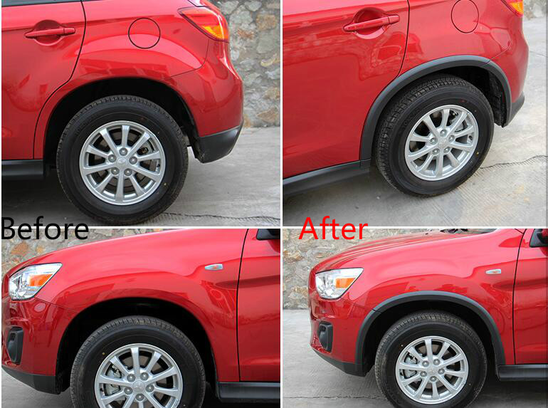For Mitsubishi ASX 2013 2014 2015 Fender Flare Wheel Extension Arches<br><br>Aliexpress