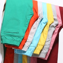 2015 high waist  jeans women summer style Casual  Candy Color Plus Size Pencil Legging Skinny Pants Trousers jeans for Women 6XL(China (Mainland))