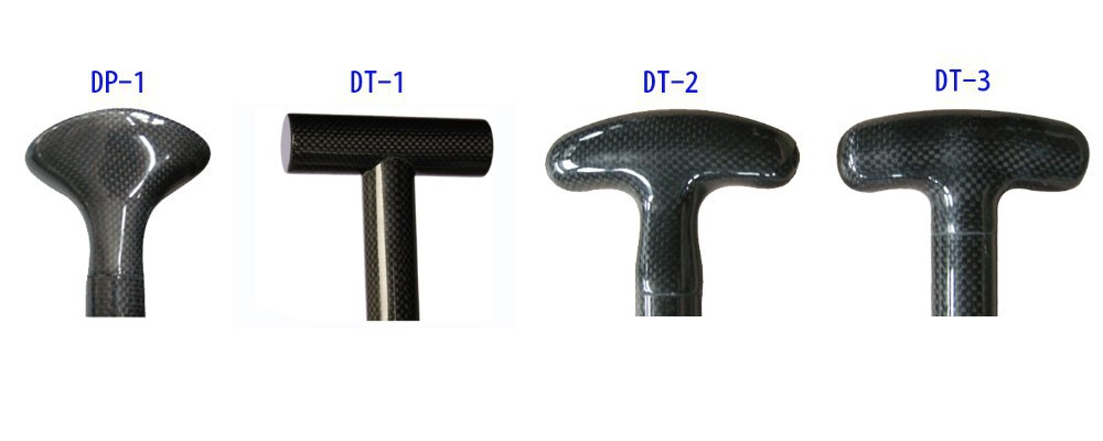 Z&J SPORT Carbon Fiber Handle Grip For Dragon Boat Paddle or Adjustable Stand Up Board Paddle(China (Mainland))