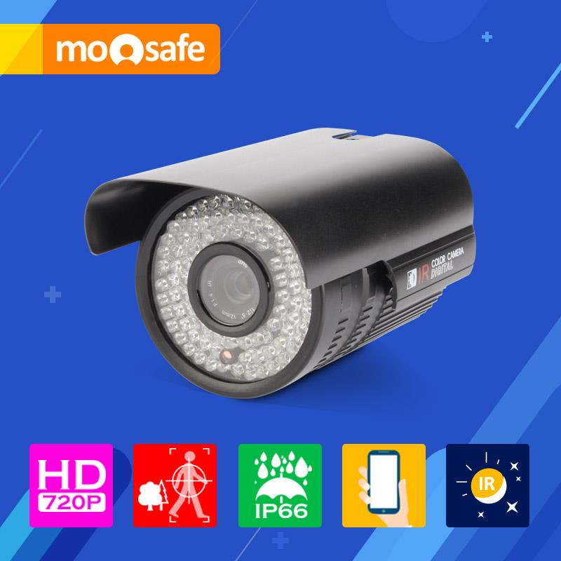 Mosafe 1MP 1280*720P Network ip camera IP66 Waterproof night vision with Auto Switch Onvif Surveillance Camera /Black(China (Mainland))