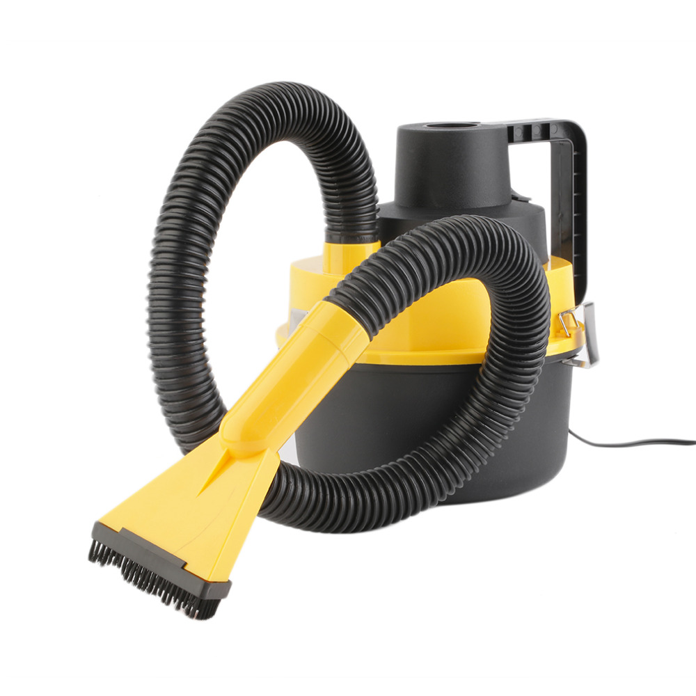 1PCS 90W Car Vacuum Cleaner Super Suction Portable Handheld Dust Collector.Handheld Portable 12V Wet / Dry Car Vacuum Cleaner(China (Mainland))