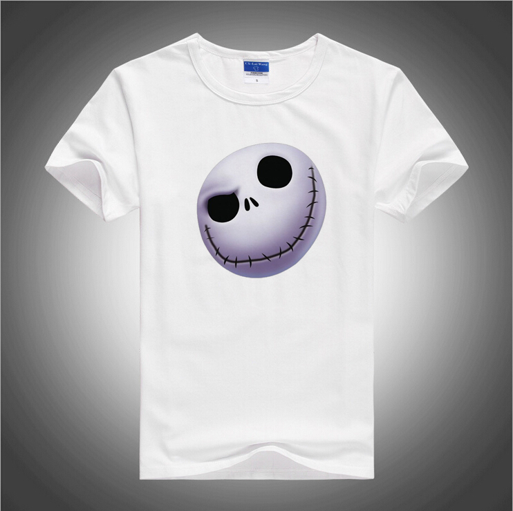 BGtomato The Nightmare Before Christmas t shirt 3D cartoon cute skull shirt for men Brand good quality comfortable cotton shirtsОдежда и ак�е��уары<br><br><br>Aliexpress
