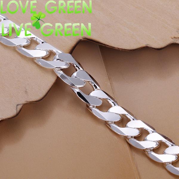 figaro chain men chain cool fashion male bracelet husband birthday gift wedding accessories brand jewelry 925