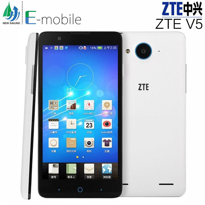 "Origina ZTE V5 Red Bull V5s Android Dual SIM Mobile Phone Snapdragon MSM8926 Quad Core 5"" HD 1280*720 2GB+8GB GSM/WCDMA 13MP GSP(China (Mainland))"