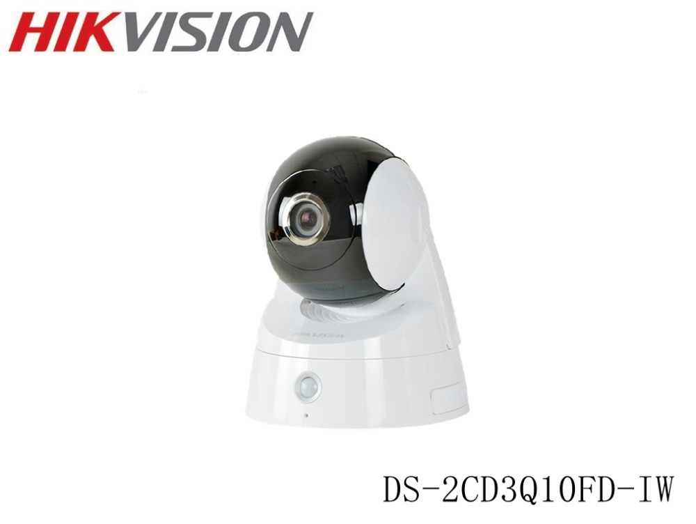 HIKVISION Original DS-2CD3Q10FD-IW Instock MiNi PTZ CCTV IP Camera 720P 1MP Support WiFi ONVIF ,With IR Day/night Family(China (Mainland))