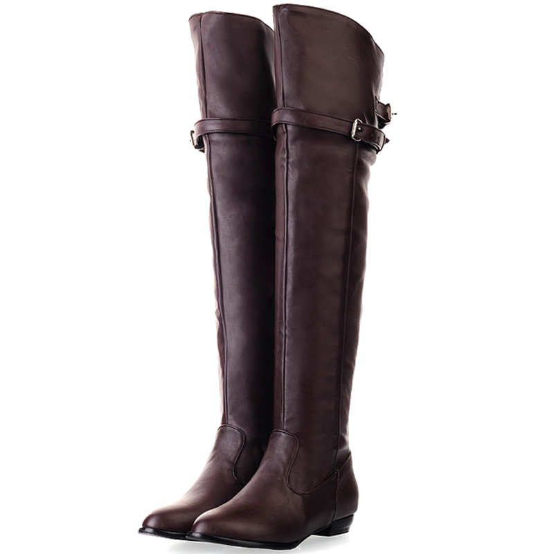get cheap beige thigh high boots aliexpress