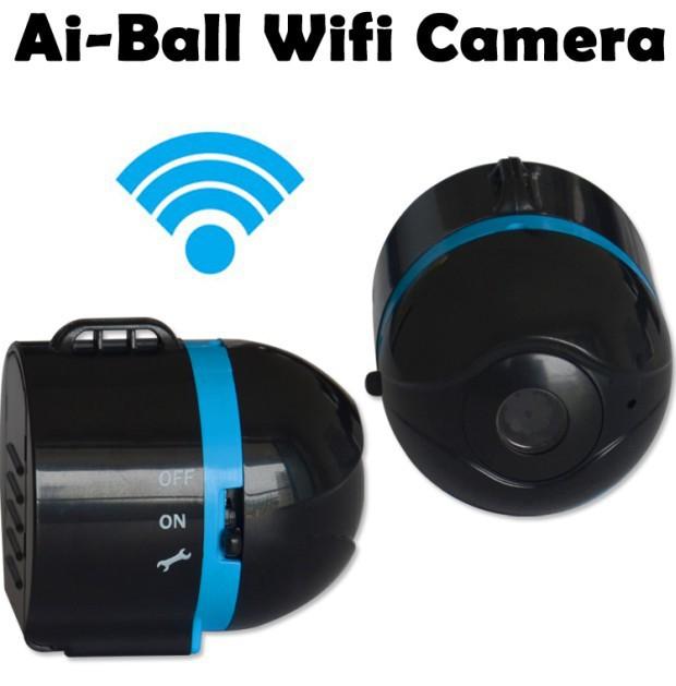 hidden camera balls