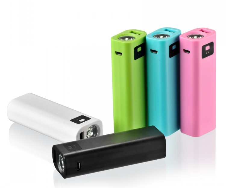 2600mAh Led torch powreful mobile battery doctor, general power bank gift/portable USB charger/external backup battery pack(China (Mainland))