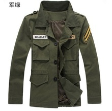 2015 Limited Hot Sale Cotton Polyester Single Breasted No Standard Casual Woven Conventional Zippers Slim Jacket