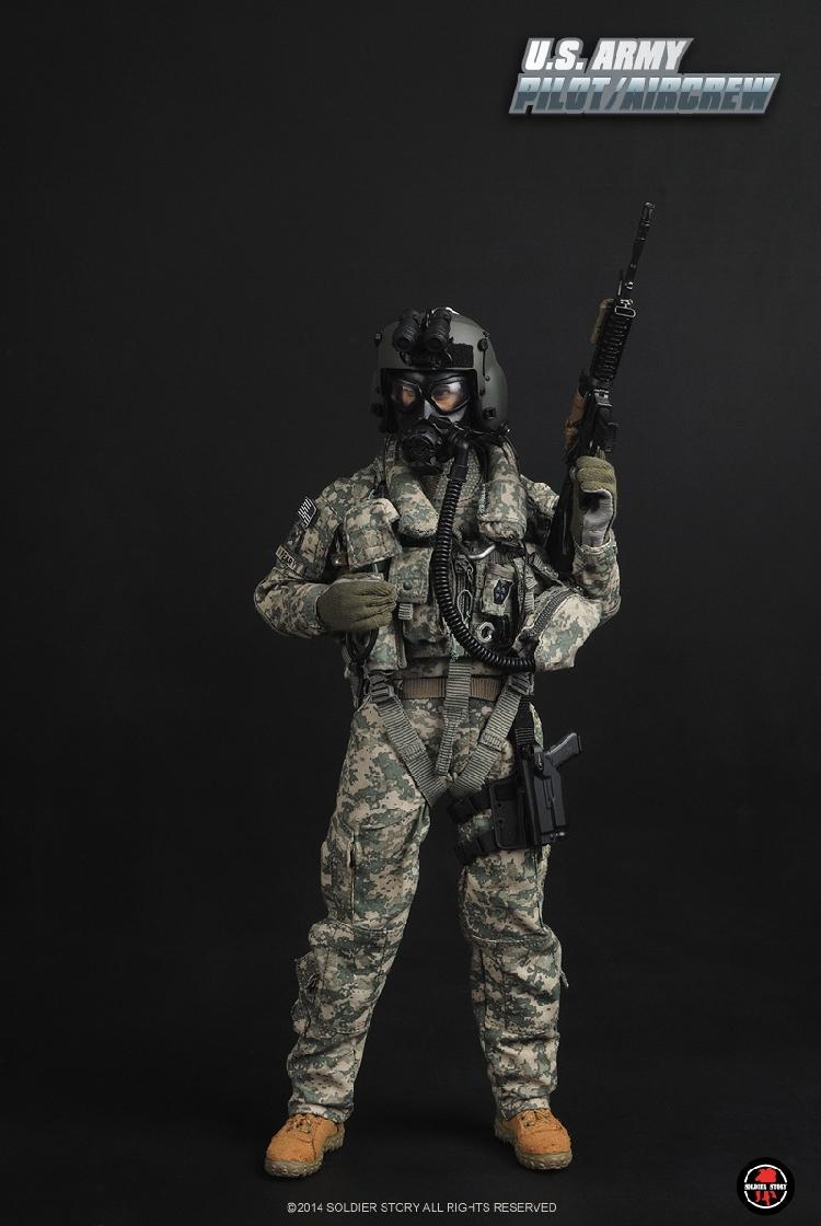 Soldierstory 1/6 scale doll figure model 12 Action figure doll  U.S. ARMY PILOT / AIRCREW ,Collectibles model toys<br><br>Aliexpress