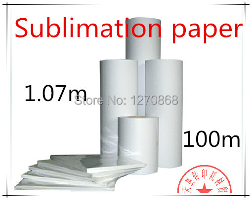 """42""""Sublimation heat transfer paper roll 100m(China (Mainland))"""