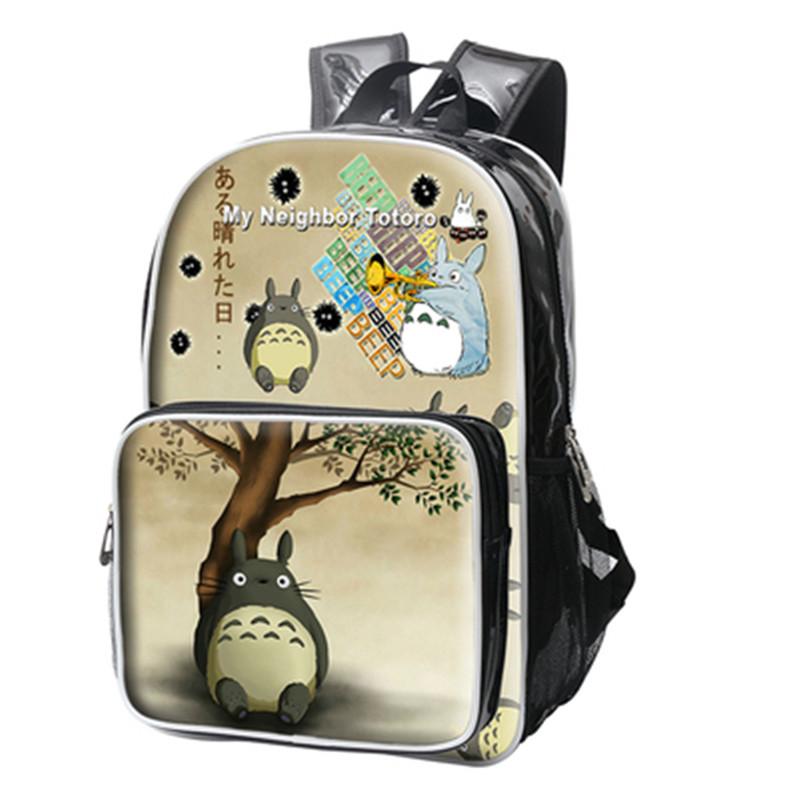 Cartoon My Neighbor Totoro PU Backpacks Cute Shoulders Bags Schoolbag 41cm*29cm*11cm Free Shipping<br><br>Aliexpress
