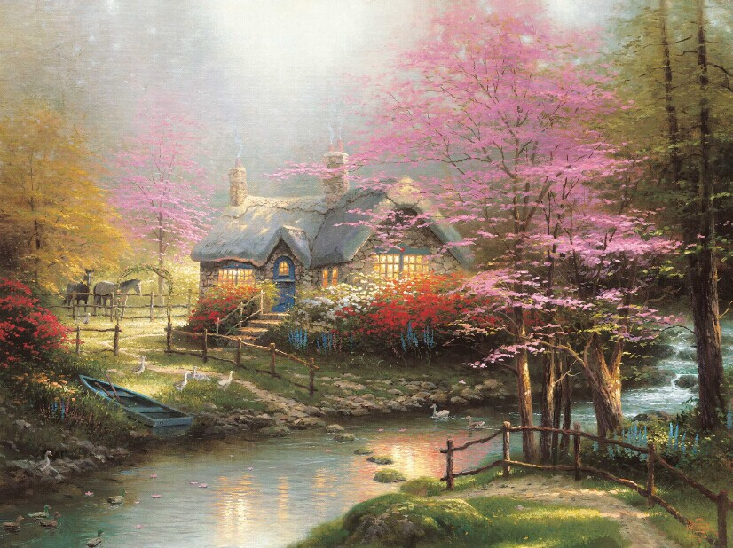 reproduction businesses of thomas kinkades painting If you stare at the thomas kinkade painting on  but when the internet hit and the markets were flooded with kinkades  kinkade's reproduction.