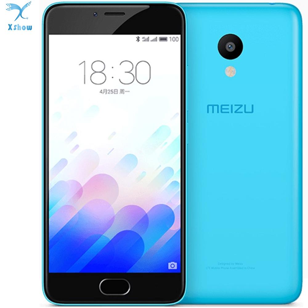 "Original Meizu M3 Mini 4G LTE Cell Phone Android 5.1 MTK MT6750 Octa Core 5.0"" 2GB RAM 16GB ROM 13.0MP Camera Smart Phone(China (Mainland))"