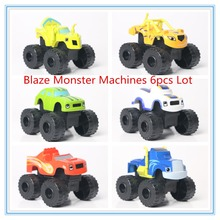 2016 Sale Blaze Monster and the Machines Kid Toys Vehicle Car Blaze Trucks Model Car Toys With Original Box Best Gifts For Kids(China (Mainland))