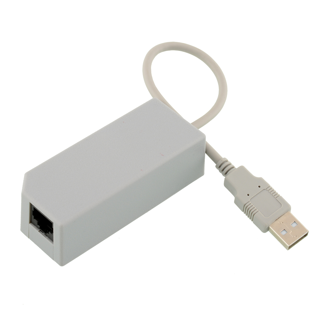 USB Internet Ethernet LAN Network Card Wired Adapter Fast Connector For Nintendo Gaming Wii Console New(China (Mainland))