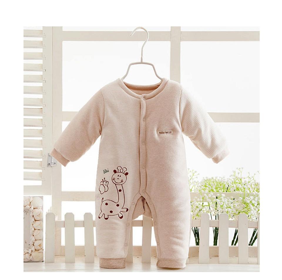 Скидки на 2016 Зима Детская Одежда Младенца Хлопка Мальчик Девочка Одежда Комбинезон новорожденного плюшевые комбинезон зимние комбинезоны детские snowsuit девочек одежда