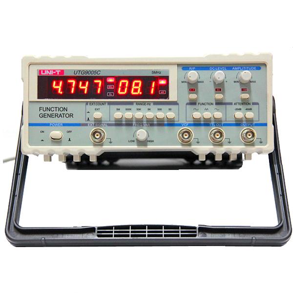 UNI-T UTG9005C Power Supply Digital Function Waveform Signal Generator 0.5Hz-5MHz AC 220V(China (Mainland))