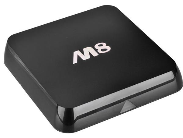 20PCS NEW ARRIVE! Android TV Box M8 Amlogic S802 1G/8G Quad Core Mini PC Bluetooth WIFI Smart Media Player TV free ship(China (Mainland))