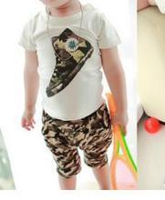 Baby Boy Clothes 2016 New Summer Fashion Kids Boys Clothes Children Toddler Boys Clothing Set T-shirt + Pants 100 % Cotton T520(China (Mainland))