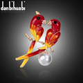 New Fashion enamel brooch pins crystal jewelry animal brooches for women christmas gifts