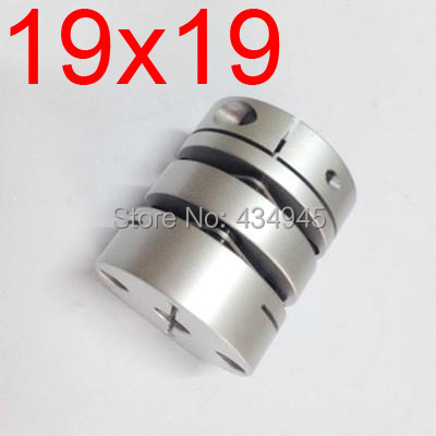 19x19 19mm 19mm Double diaphragm Disc coupling ,electric coupler screw rod Stepper servo motor encoder shaft coupling D39 L49(China (Mainland))