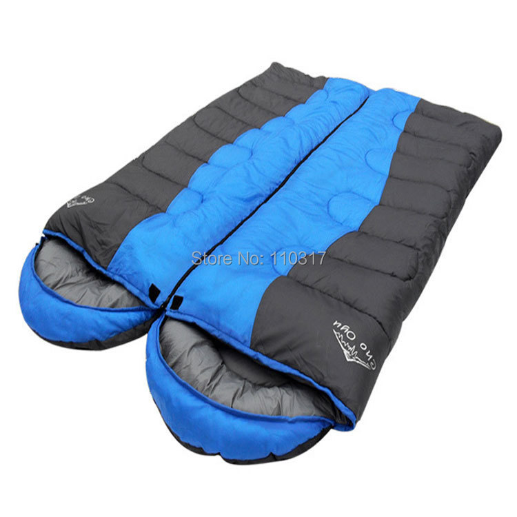 Здесь можно купить  2 pcs in 1 set, Waterproof Thickening Lover Double Sleeping Bag Envelope Type for Outdoor Survival Camping S0040, free shipping  2 pcs in 1 set, Waterproof Thickening Lover Double Sleeping Bag Envelope Type for Outdoor Survival Camping S0040, free shipping  Спорт и развлечения