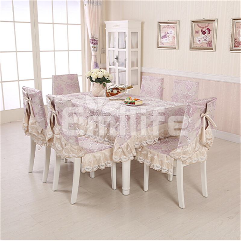 European Luxury Palace Table Cover Purple Jacquard Lace Table Cloth Rectangular Stain Wine Coffee Wedding Ding Tablecloths 42()