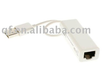 5PCS  free shipping USB 10/100Mbps Ethernet Network LAN Adapter