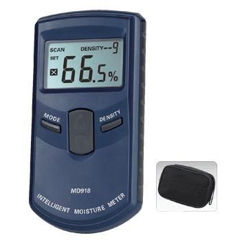 INDUCTIVE MOISTURE METER, digital wood moisture meter MD918 4%~80% Resolution: 0.5%