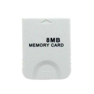 Freeshipping wholesale 10pcs/lot 8MB 8 MB MEMORY CARD FOR NINTENDO WII GAMECUBE GAME(China (Mainland))