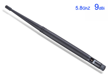 Wholesale 5.8G 9dBi Aerials 5.8GHz High Gain Omnidirectional Omni Direction Rubber Duck Antenna