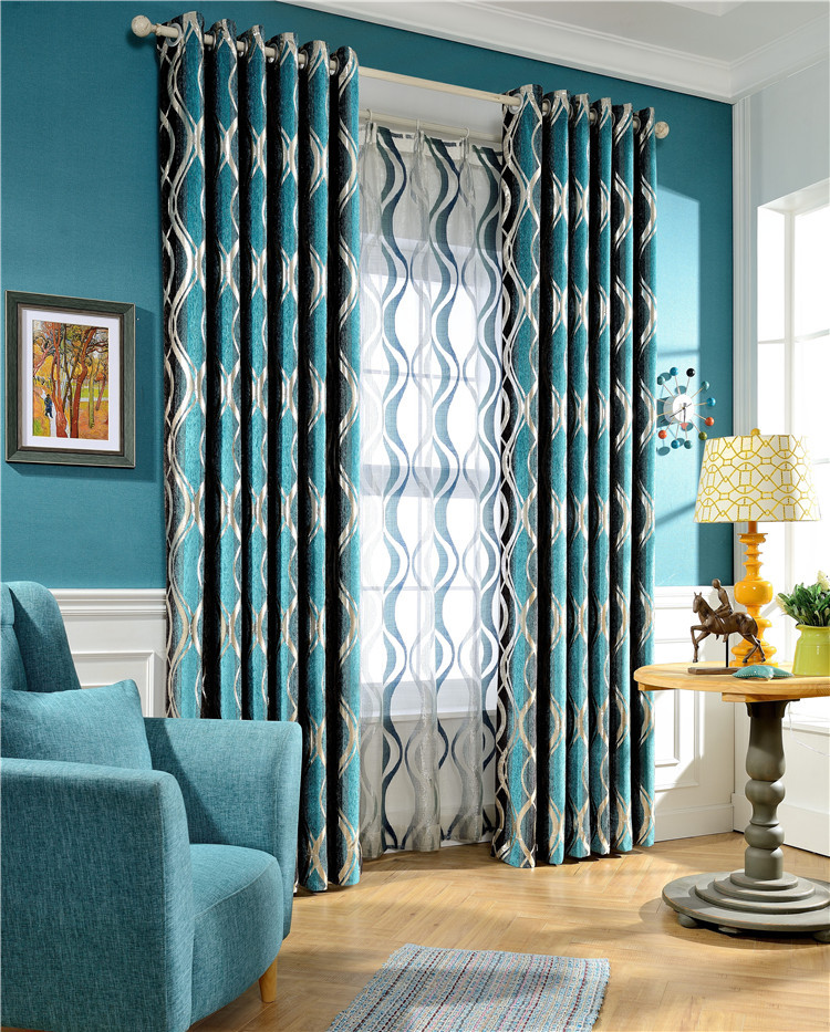 Jacquard tela de la cortina compra lotes baratos de - Telas opacas para cortinas ...